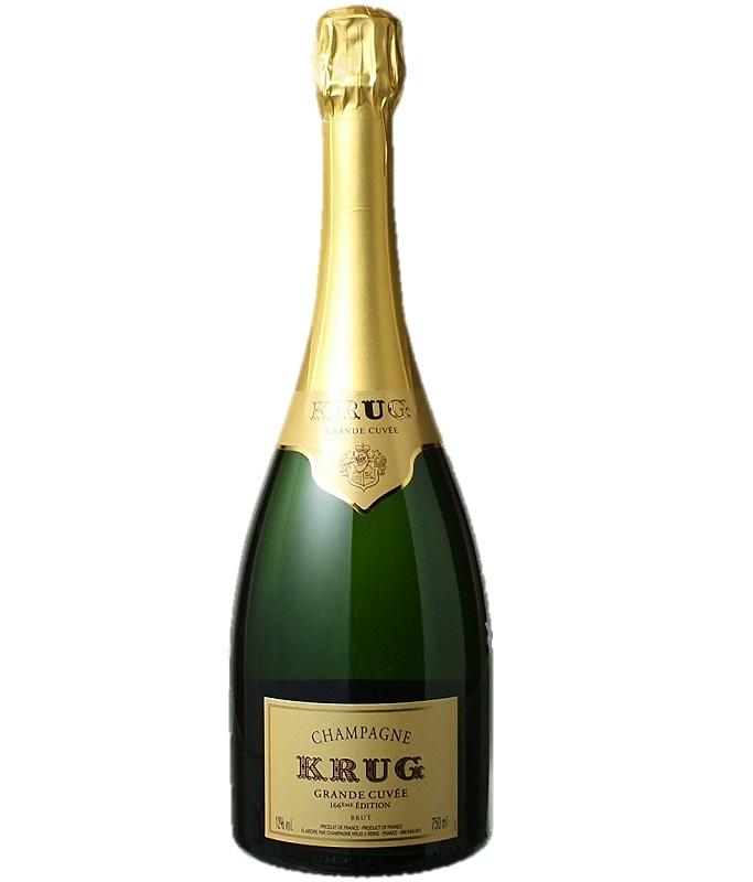 クリュッグ グランド キュヴェ ブリュット エディション 166 [NV] Krug Grande Cuvee 166 eme Edition Brut [NV] Champagne 【フランス シャンパーニュ】