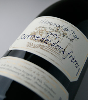 Chateau ヌフ デュ パプレゼルヴ デ Doe フレール [2005] (ドメーヌ Pierre ユッセリオ) Chateauneuf du Pape Reserve des Deux Freres [2005] (Domaine Pierre Usseglio)