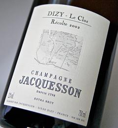 DIZY Le Clos (Jaquesson) extra Brut millésime [2002] Dizy-Le Clos Extra Brut Millesime [2002]