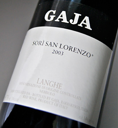 Angelo Gaia sori San Lorenzo, SORI SAN LORENZO (Angelo GAJA)