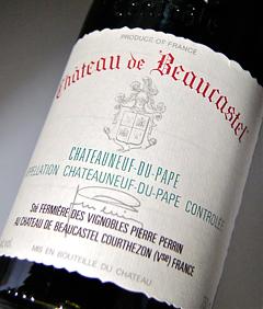 """""""Chateau de Beaucastel"""" 1994 """"Chateau de beaucastel"""" Chateauneuf-du-Pape Rouge (Vignoble, Pierre and run) Chateauneuf du Pape Rouge [1994] (Vignobles Pierre Perrin)"""
