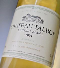 Château Talbot Caillou Blanc [2004] Chateau Talbot Caillou Blanc [2004]