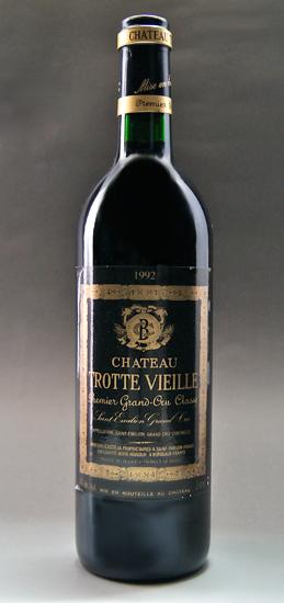 Special Chateau trot Vieille [1992] Saint-Emilion, 1er-Grand-Cru-Classe first class B Chateau Trotte Vieille [1992] AOC Saint Emilion 1er Grand Cru Classe