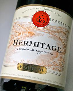 에르미타즈・루즈[2009] (E.기갈) Hermitage Rouge [2009] (E.Guigal)