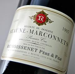 Beaune 1er Cru marconnet [1997] Pere-et-Fiss, remoissenet-Beaune 1er Cru Marconnets [1997] (Remoissenet Pere et Fils)