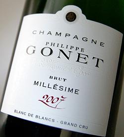 Blanc-de Blanc Grand Cru vintage [2007] (Philip gosnay) Blanc de Blanc Grand Cru Millesime [2007] (Philippe Gonet)