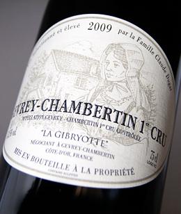 Gevrey Chambertin 1er Cru [2009] (La jibriot) Gevrey-Chambertin 1er Cru [2009] (La Gibryotte)