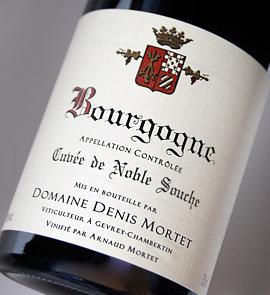 브루고니・루즈・큐베・드・노블・스슈[2012] (드메이누・도니・몰테) Bourgogne Cuvee de Noble Souche Roug [2012] (Domaine Denis Mortet)