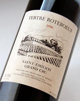 And Chateau Le Tertre rotbuch [1996] Saint-Emilion Grand Cru Chateau Le Tertre Roteboeuf [1996] AOC Saint-Emilion Grand Cru