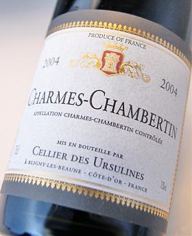 Sharm-Chambertin Grand Cru [2004] (serie des Ursulines) Charmes Chambertin Grand Cru [2004] (Cellier des Ursulines)