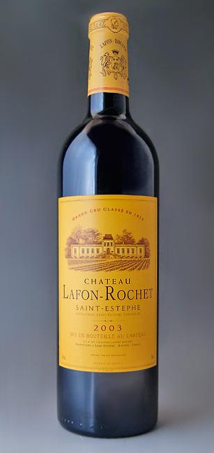 샤토 라 폰 ロシェ [2003] Chateau Lafon Rochet [2003]
