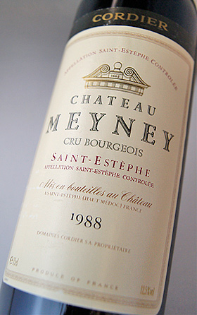 酒庄 meyney [1988] AOC 圣泰,Cru 资产阶级城堡 Meyney [1988] AOC 圣埃斯泰夫 Cru 资产阶级