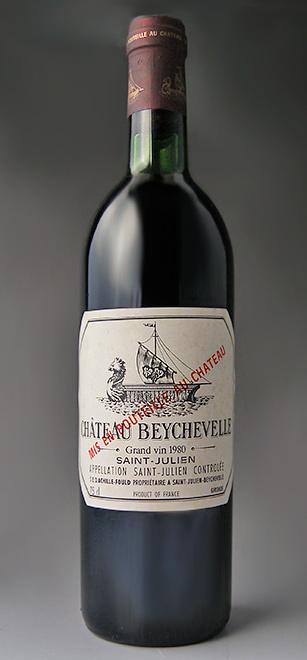 シャトー・ベイシュヴェル [1980] メドック格付第4級 AOCサン・ジュリアン Chateau Beychevelle [1980] AOC Saint Julien【赤 ワイン】