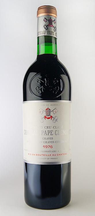 シャトー・パプ・クレマン・ルージュ [1976] グラーヴ・グラン・クリュ・クラッセ Chateau Pape Clement [1976] Grand Cru Classe 【赤 ワイン】