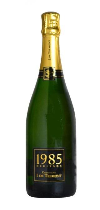 ヘリテージ ブリュット ミレジム [1985] (J(ジ)・ド・テルモン) Heritage Brut Millesime [1985] (J.De Telmont) 【スパークリング ワイン】【シャンパーニュ】