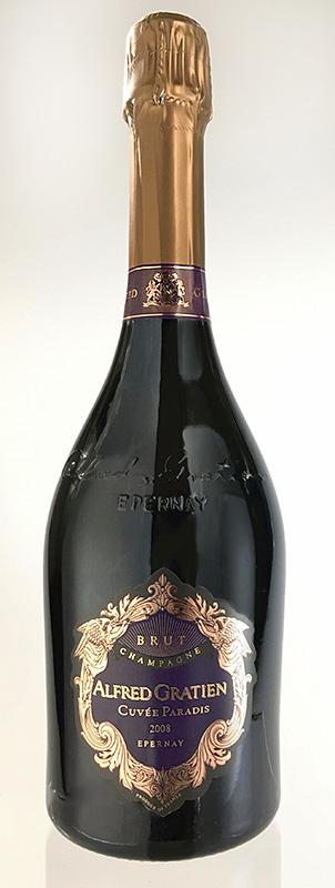 キュヴェ・パラディ ブリュット [2006] (アルフレッド・グラシアン)Cuvee Paradis Brut [2006] (Alfred Gratien) 【スパークリング ワイン】【シャンパーニュ】