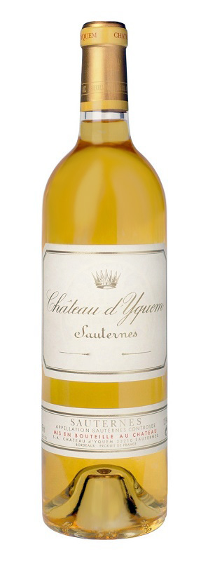 Sauternes Chateau d'yquem [1986] and special first class rating Chateau d ' Yquem [1986] Premiers Crus Supereu