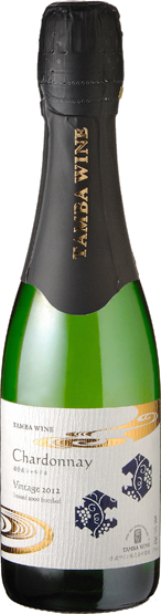 Harima-sparkling Chardonnay 375 ml 6 pieces (Tamba wines)