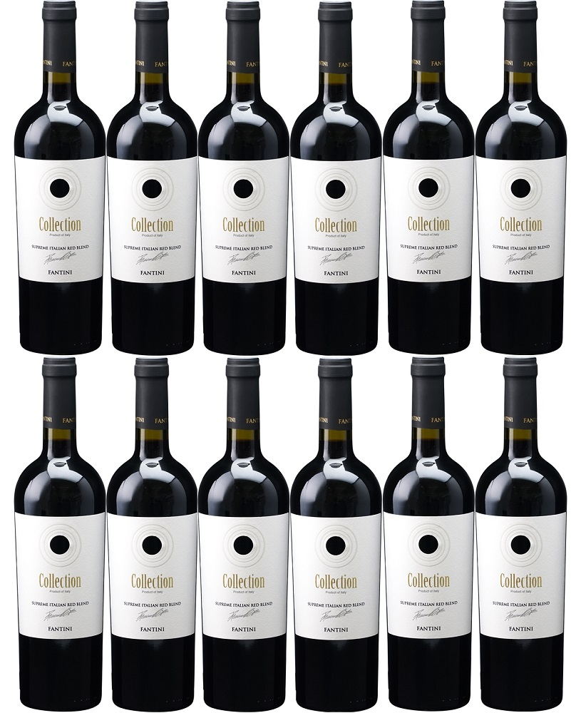 [12本セット] ファンティーニ・コレクション・ヴィノ・ロッソ (ファルネーゼ・ヴィニ) Fantini Collection Vino Rosso [現行ヴィンテージ] (Farnese Vini) イタリア/アブルッツォ/赤/750ml