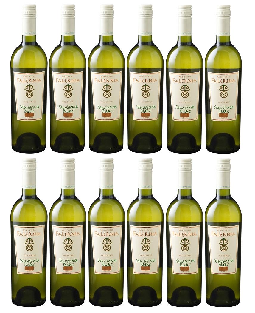 [12本セット] ソーヴィニヨン・ブラン リゼルバ (ヴィーニャ・ファレルニア) Sauvignon Blanc Reserva (Vina Falernia) 白/チリ/エルキ・ヴァレー/750ml [現行ヴィンテージ]