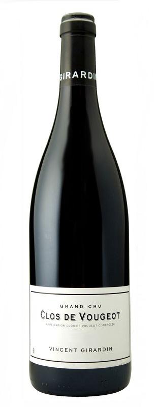 【6本~送料無料】クロ・ド・ヴージョ グラン・クリュ [2008] (ヴァンサン・ジラルダン)Clos de Vougeot Grand Cru [2008] (Vincent Girardin) 【赤 ワイン】【フランス ブルゴーニュ】