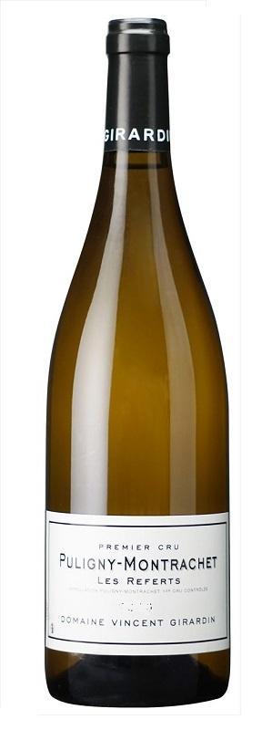 【6本~送料無料】ピュリニー・モンラッシェ プルミエ・クリュ ル・ルフェール [2011] (ヴァンサン・ジラルダン) Puligny Montrachet 1er Cru Les Referts [2011] (Domaine Vincent Girardin) 【白 ワイン】【フランス】【ブルゴーニュ】