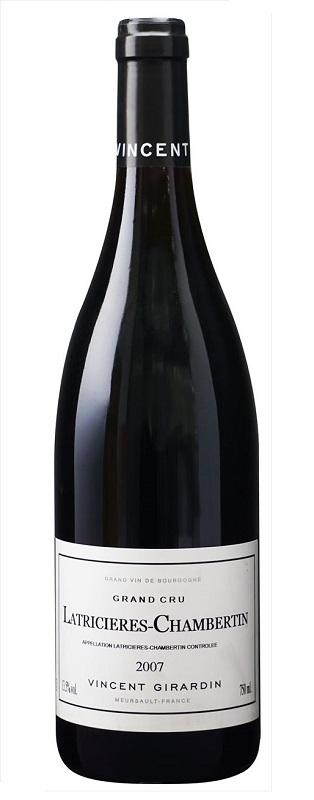 【6本~送料無料】ラトリシエール・シャンベルタン グラン・クリュ [2007] (ヴァンサン・ジラルダン)Latricieres Chambertin Grand Cru [2007] (Vincent Girardin) 【赤 ワイン】