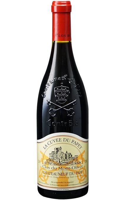 【よりどり6本以上送料無料商品】 シャトーヌフ・デュ・パプ ラ・キュヴェ・デュ・パペ [2006] (クロ・デュ・モン・オリヴェ) Chateauneuf du Pape La Cuvee du Papet [2006] (Clos du Mont Olivet) 【赤 ワイン】【フランス】【コート・デュ・ローヌ】