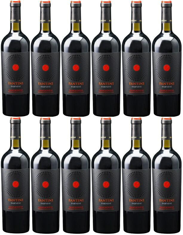 [12本セット] ファンティーニ・サンジョヴェーゼ・テッレ・ディ・キエティ [2018] (ファルネーゼ・ヴィニ) Fantini Sangiovese Terre di Chieti [12 bottle set] [2018] (Farnese Vini) 【赤ワイン イタリア】