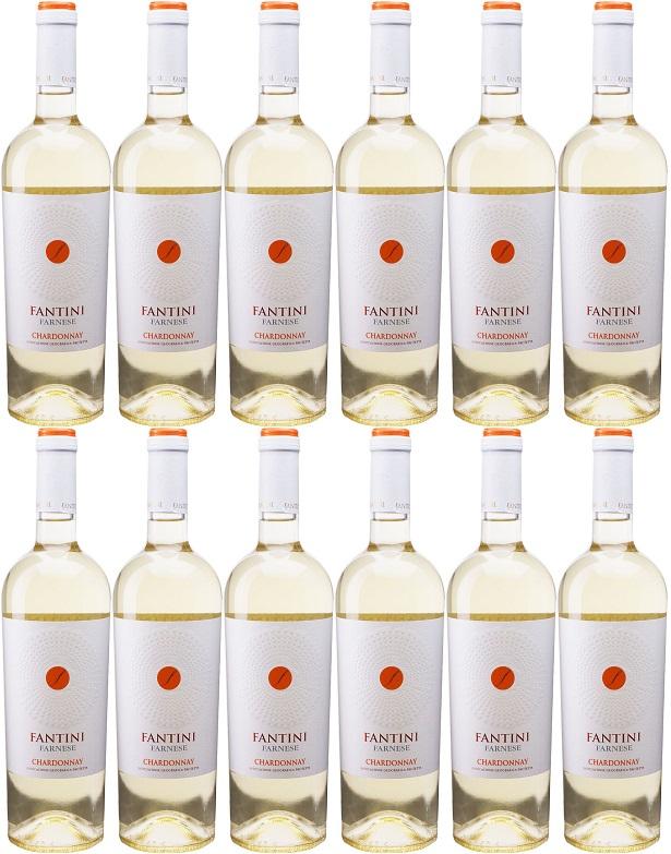 [12本セット] ファンティーニ シャルドネ (ファルネーゼ・ヴィニ) Fantini Chardonnay [現行ヴィンテージ] (Farnese Vini) イタリア/アブルッツォ/白/750ml