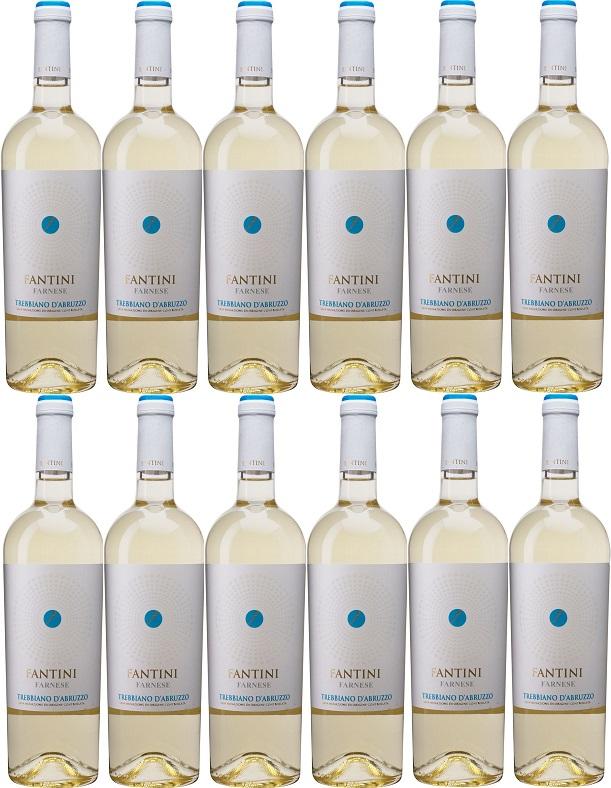 [12本セット] ファンティーニ・トレッビアーノ・ダブルッツォ [2018] (ファルネーゼ・ヴィニ) Fantini Trebbiano d'Abruzzo [2018] (Farnese Vini) 【白ワイン イタリア アブルッツォ】