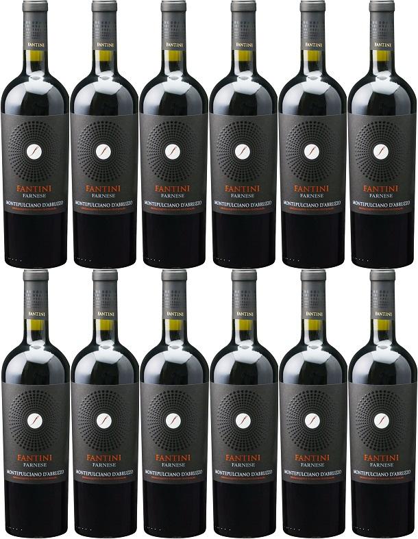 [12本セット] ファンティーニ・モンテプルチアーノ・ダブルッツォ [2017] (ファルネーゼ・ヴィニ) Fantini Montepulciano d'Abruzzo [2017] (Farnese Vini) 【赤ワイン イタリア アブルッツォ】