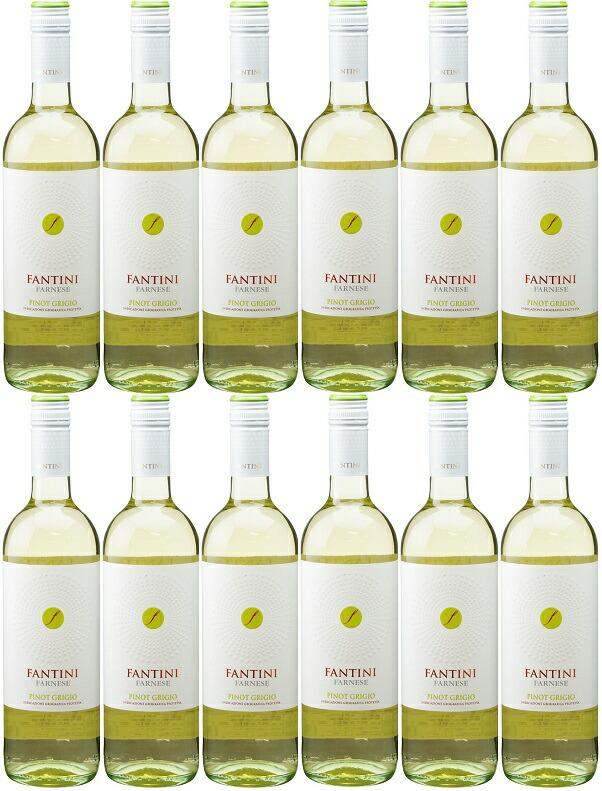 [12本セット] ファンティーニ ピノ・グリージョ (ファルネーゼ・ヴィニ) Fantini Pinot Grigio [現行ヴィンテージ] (Farnese Vini) イタリア/シチリア/白/750ml