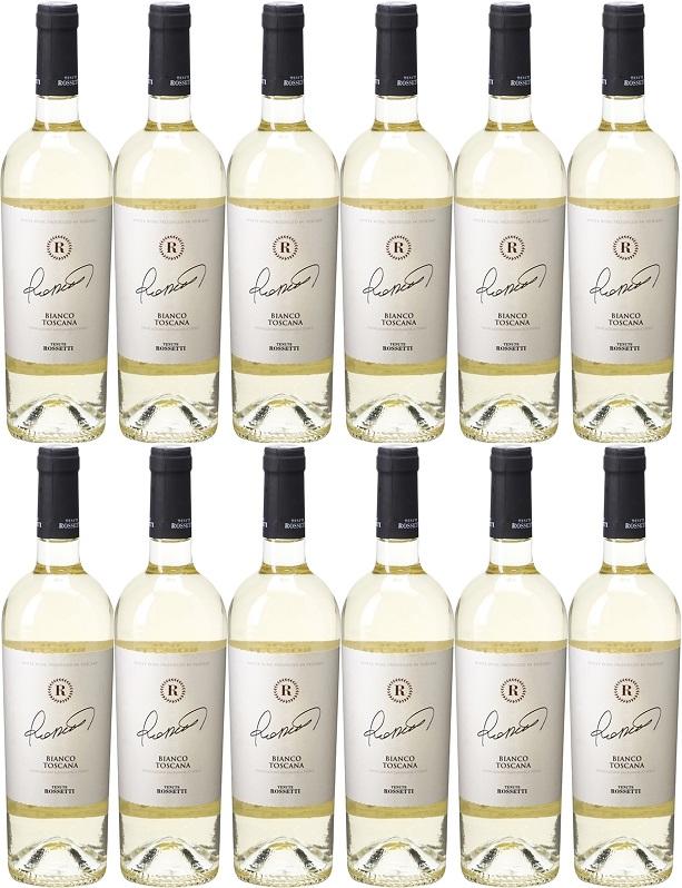 [12本セット] ビアンコ・トスカーナ [NV] (テヌーテ・ロセッティ) Bianco Toscana [NV] (Tenute Rossetti) 【白ワイン イタリア トスカーナ】
