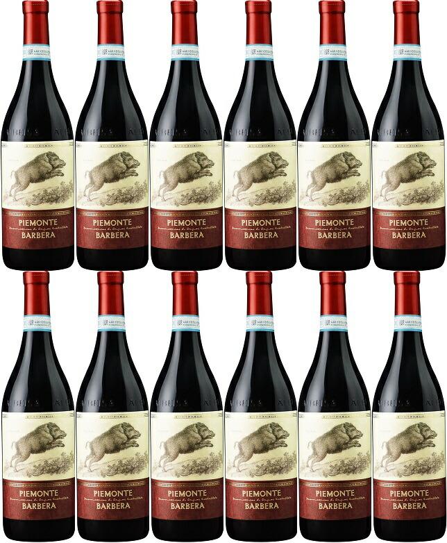 [12本セット] ピエモンテ・バルベーラ [2016] (テッレ・デル・バローロ) Piemonte Barbera [2016] (Terre del Barolo) 【赤 ワイン イタリア ピエモンテ】