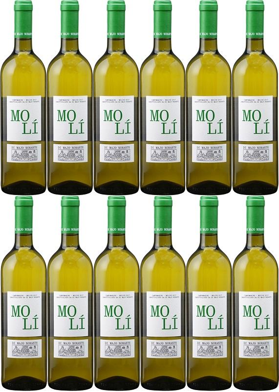 [12本セット] モリ・ビアンコ [2018] (ディ・マーヨ・ノランテ) Moli' Bianco [2018] (Di Majo Norante) 【白 ワイン イタリア モリーゼ】