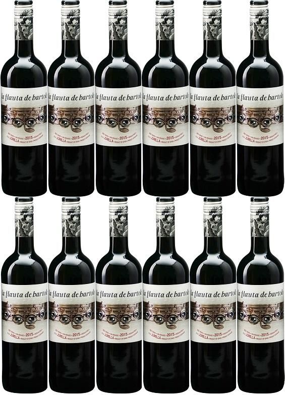 [12本セット] ラ・フラウタ・デ・バルトロ ティント [現行ヴィンテージ] (ヒル・ファミリー・エステーツ) La Flauta de Bartolo Tinto [現行ヴィンテージ] (Gil Family Estates) 【赤 ワイン スペイン】
