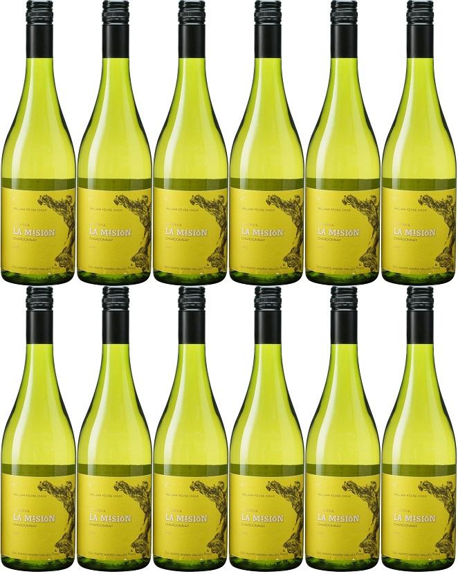 [12本セット] ラ・ミシオン・シャルドネ [2018] (ヴィーニャ・ウィリアム・フェーヴル・チリ) La Mision Chardonnay [2018] (Vina William Fevre Chile) 【白 ワイン】【チリ】マイポ・ヴァレー