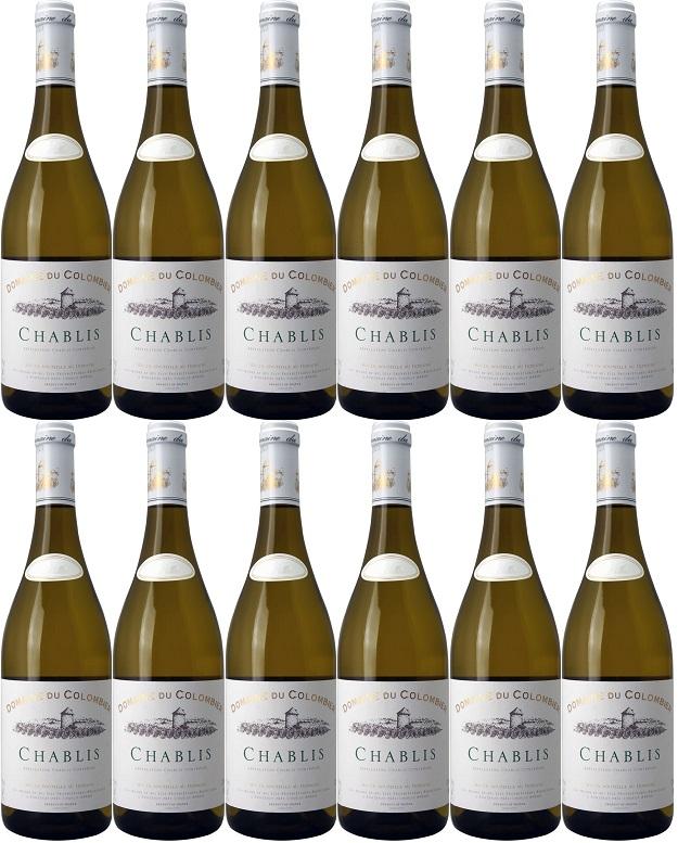 [12本セット] シャブリ [2018] (ドメーヌ・デュ・コロンビエ) Chablis [2018] (Domaine du Colombier) 白ワイン / フランス / ブルゴーニュ / 750ml ×12本