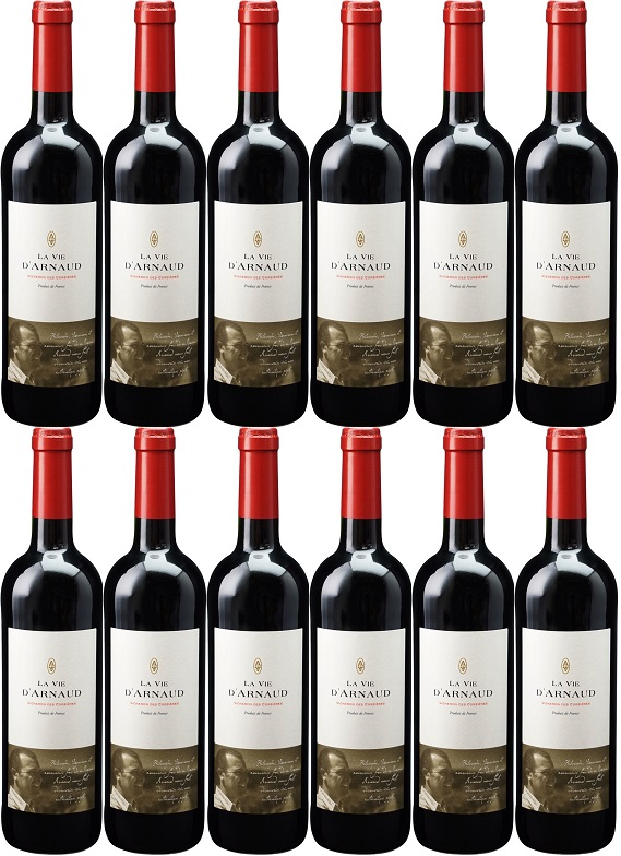 [12本セット] ラ・ヴィ・ダルノー コルビエール [2016] (アルノー・シェ) La Vie D'Arnaud Corbieres [2016] (Arnaud Sie)【赤ワイン フランス ラングドック・ルション】
