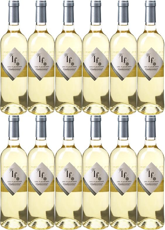 [12本セット] レ・フルリーヌ・ブラン [2016] (セレクト・ヴァン(ネグリ)) Les Fleurines Blanc [2016] (Select Vin Negly)【白ワイン フランス ラングドック・ルション】