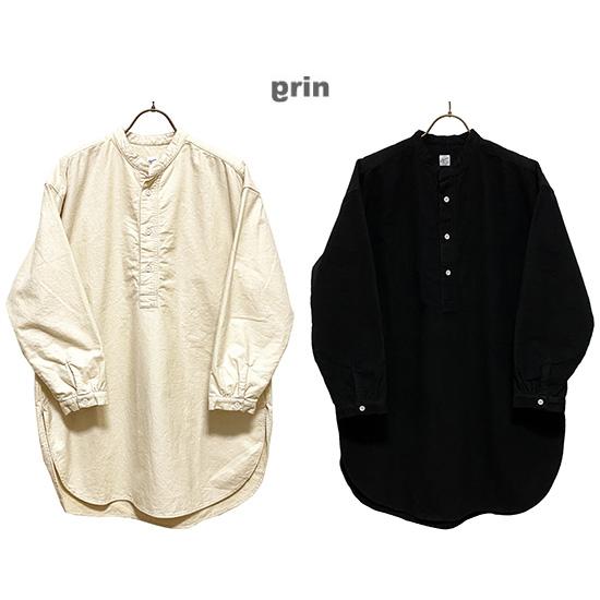☆日本国内 倉 送料 商舗 代引き手数料無料☆ grinグリンコットンネルロングシャツサイズ:2