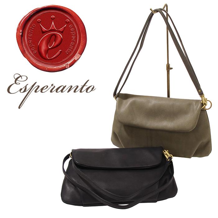 esperanto(エスペラント) - PATINA POUCH & CLUTCH BAG - イタリアパティーナレザーポーチ&クラッチ&ショルダーバッグ