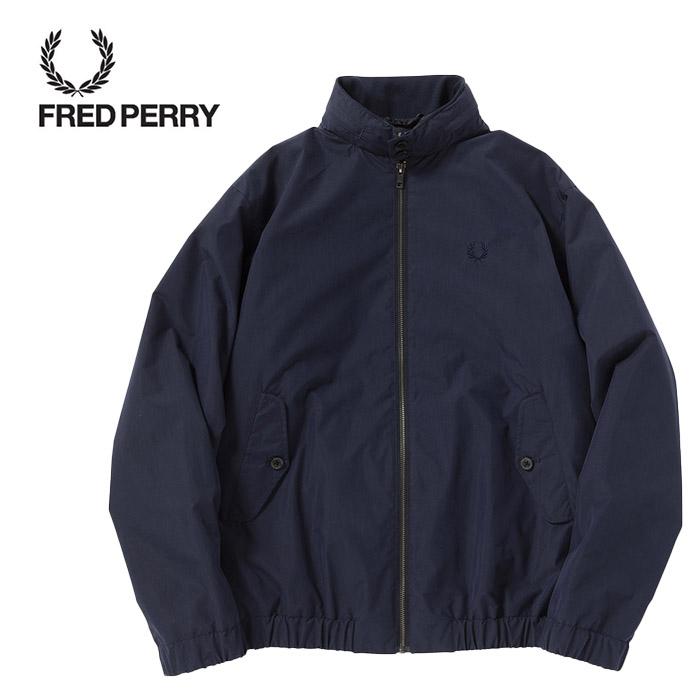 SALE・30%OFF【セール】FREDPERRY[フレッドペリー] - Shirt Harrington Jacket - 撥水素材ハリントンジャケット本品はポイント+1倍です!【日本代理店正規品】