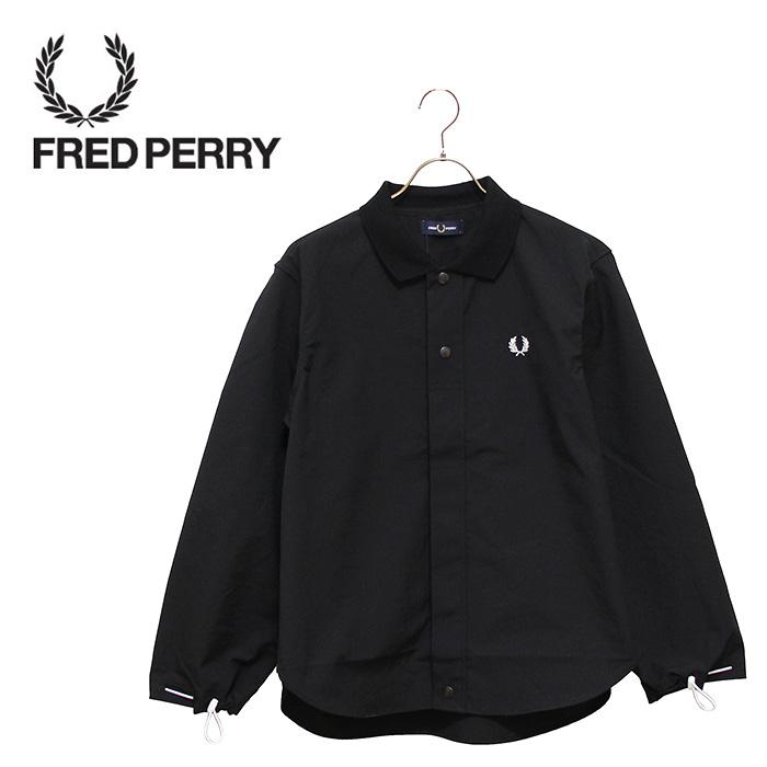 SALE・30%OFF【セール】FREDPERRY[フレッドペリー] - Shirt Jacket - 襟リブシャツジャケット本品はポイント+1倍です!【日本代理店正規品】