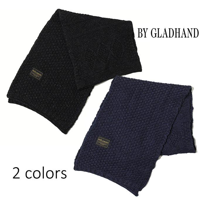 BY GLADHAND (バイグラッドハンド) - Islands Muffler - 硫化染コットンマフラー※日本国内送料無料・代引手数料無料※