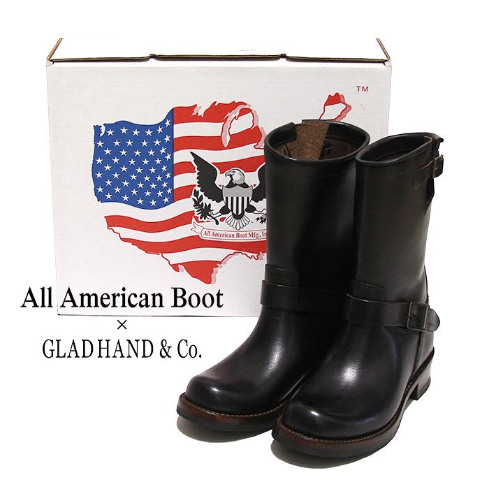 GLADHAND[グラッドハンド]All American Boot x GLADHAND - JOYRIDE Engineer boot - 11インチエンジニアブーツ本品はポイント+1倍です!