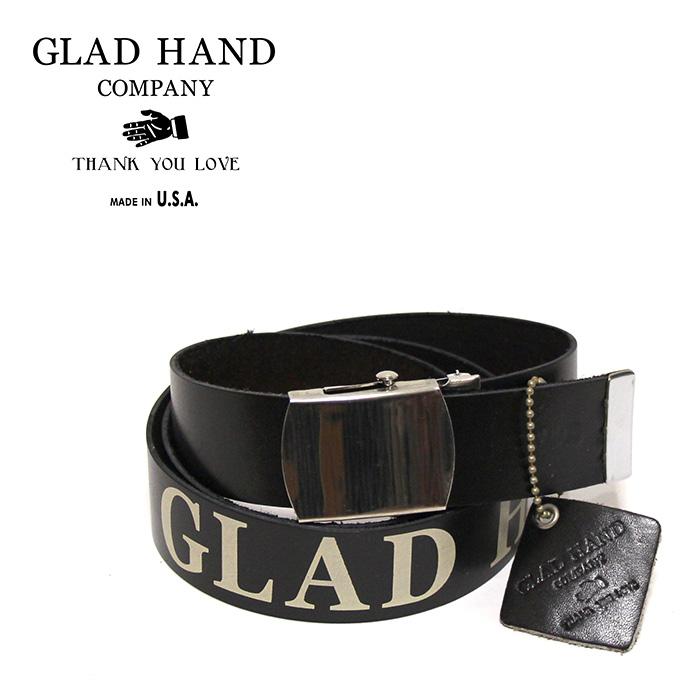 GLAD HAND & Co.(グラッドハンド)GH-SCOUT BELTU.S.A.製茶芯レザーベルト※日本国内 送料・代引手数料無料※