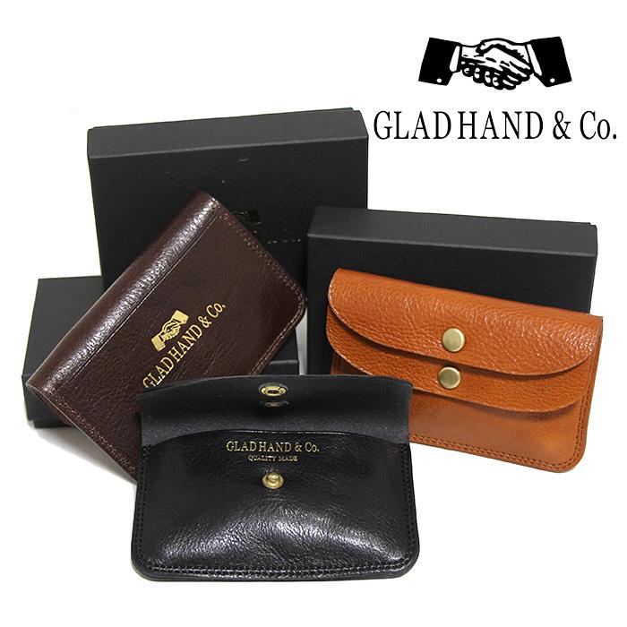 GLADHAND[グラッドハンド]- SPEAKEAZY x GLAD HAND & Co. - DOUBLE FLAP COIN CASE - ダブルフラップコインケース