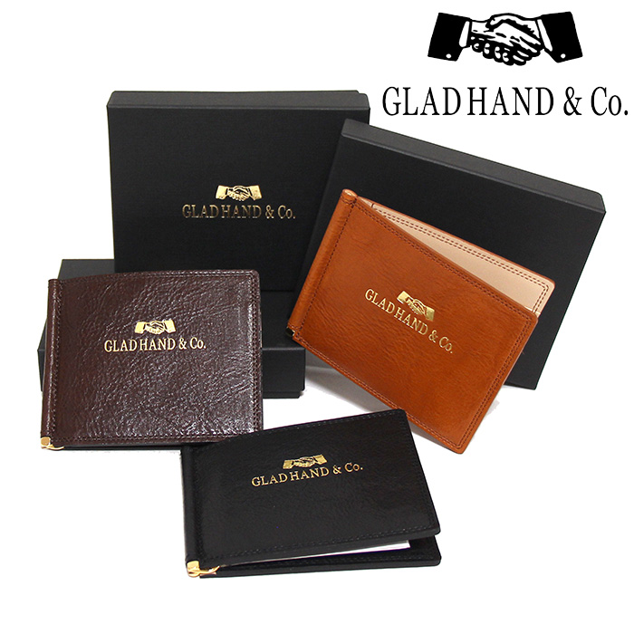 GLADHAND[グラッドハンド]- SPEAKEAZY x GLAD HAND & Co. - MONEY CLIP WALLET - マネークリップウォレット
